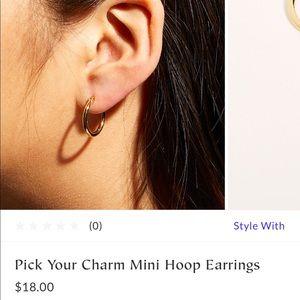 NWTA FP Hoop Earrings